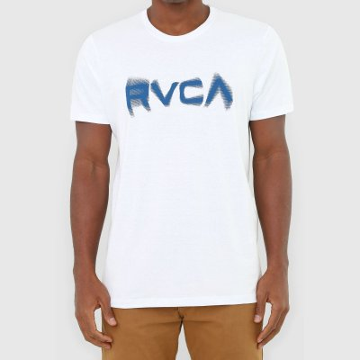 Camiseta RVCA Blurs Masculina Branco