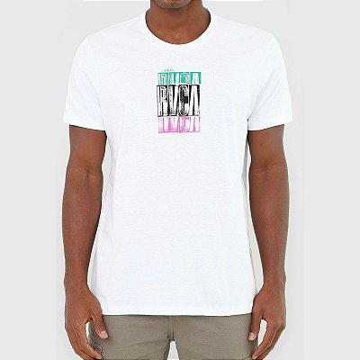 Camiseta RVCA Condensend Masculina Branco