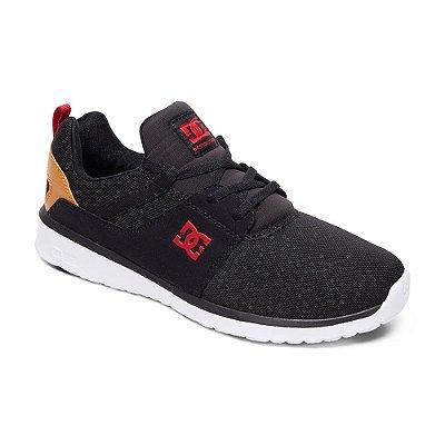 Tênis DC Shoes Heathrow Preto/Vermelho