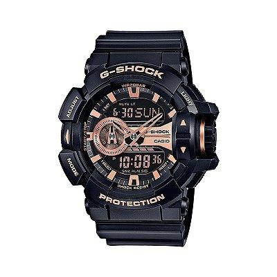 Relógio G-Shock GA-400GB-1A4DR Preto/Rosa