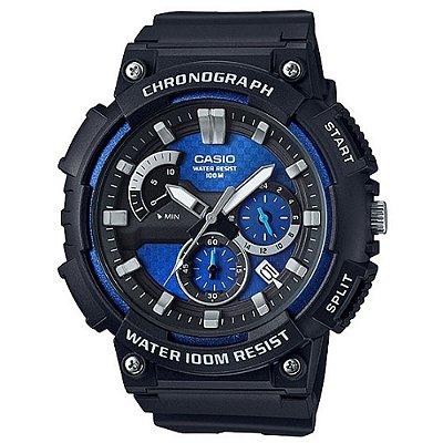 Relógio Casio Standard MCW-200H-2AVDF Preto/Azul