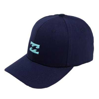 Boné Billabong Aba Curva All Day Snapback Azul Marinho