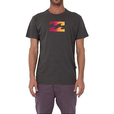 Camiseta Billabong Team Wave III Masculina Verde