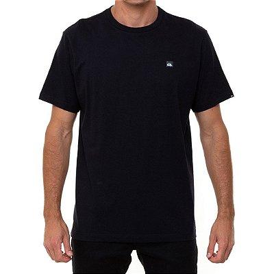 Camiseta Quiksilver Transfer Masculina Preto