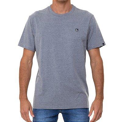 Camiseta Quiksilver Transfer Masculina Cinza Claro