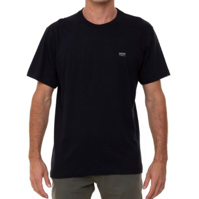 Camiseta Quiksilver Patch Masculina Preto