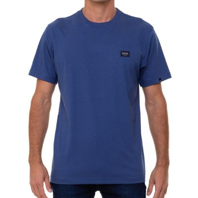 Camiseta Quiksilver Patch Masculina Azul