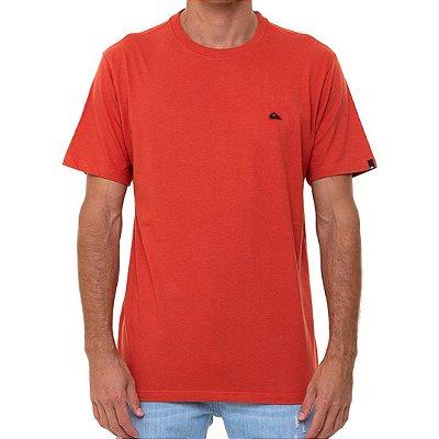 Camiseta Quiksilver Embroidery Masculina Laranja