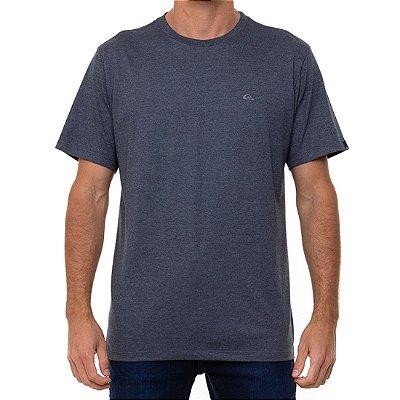Camiseta Quiksilver Embroidery Masculina Cinza Escuro