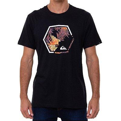 Camiseta Quiksilver Fading Out Masculina Preto