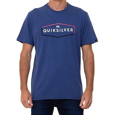 Camiseta Quiksilver Clear Mind Masculina Azul