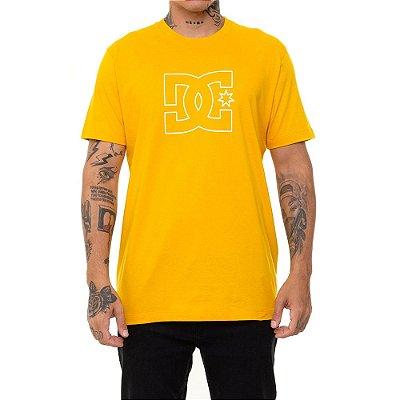 Camiseta DC Shoes Premium Star Masculina Amarelo