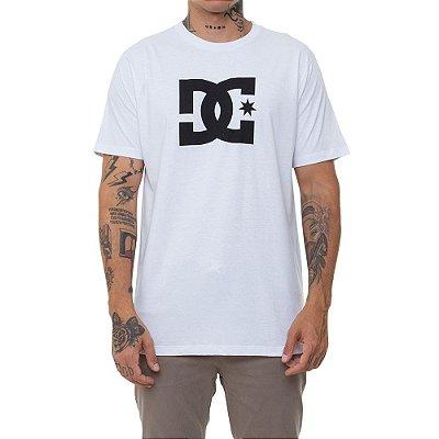 Camiseta DC Shoes Star Masculina Branco