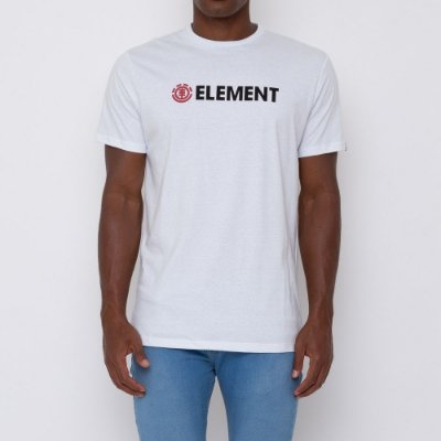 Camiseta Element Blazin Masculina Branco