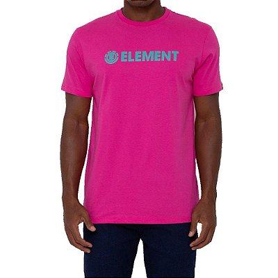 Camiseta Element Blazin Masculina Rosa
