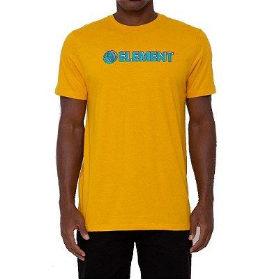 Camiseta Element Blazin 3D Masculina Amarelo