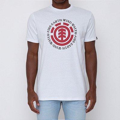 Camiseta Element Seal Masculina Branco