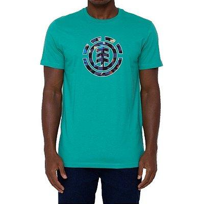 Camiseta Element Prism Icon Masculina Verde