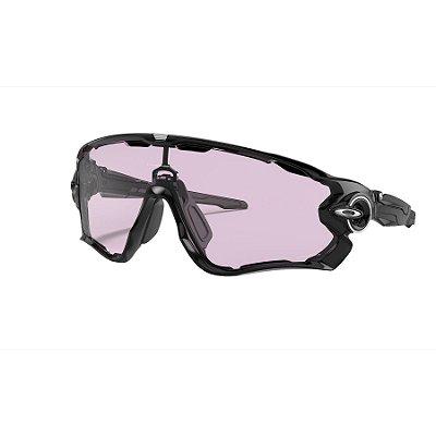 Óculos de Sol Oakley Jawbreaker Polished Black W/ Prizm Low Light
