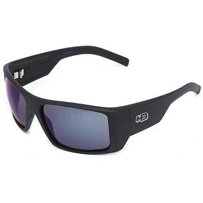 Óculos de Sol HB Rocker 2.0 Matte Black l Blue Chrome