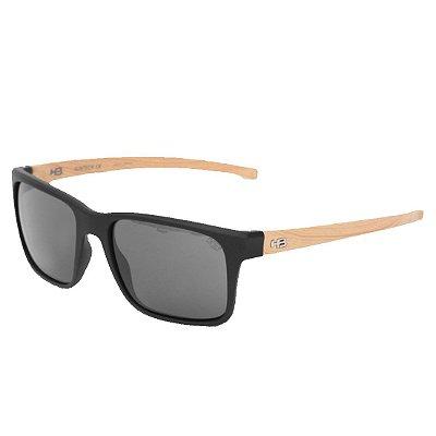 Óculos de Sol HB H-Bomb 2.0 Matte Black | Wood Gray