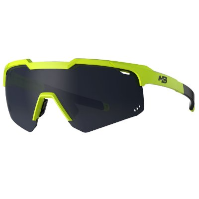 Óculos de Sol HB Shield Evo R Neon Yellow | Gray