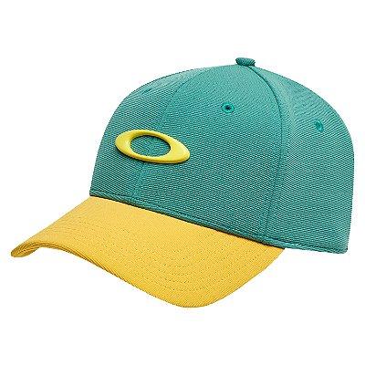 Boné Oakley Tincan Cap Verde/Amarelo