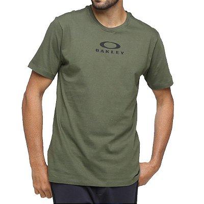 Camiseta Oakley Bark New Verde Escuro