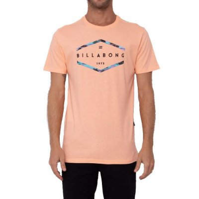 Camiseta Billabong Access Masculina Laranja