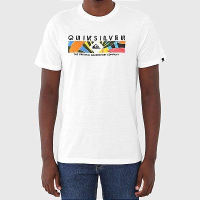 Camiseta Quiksilver Distant Shore Masculina Branco