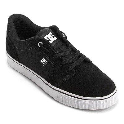 Tênis DC Shoes Anvil LA Preto/Branco