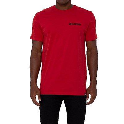 Camiseta Element Blazin Chest Masculina Vermelho