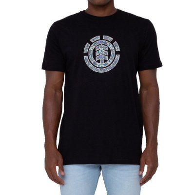 Camiseta Element Mapple Icon Masculina Preto