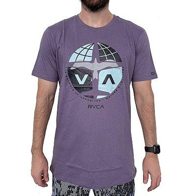 Camiseta RVCA Aero Roxa