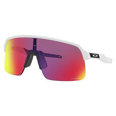 Óculos de Sol Oakley Sutro Lite Matte White W/ Prizm Road