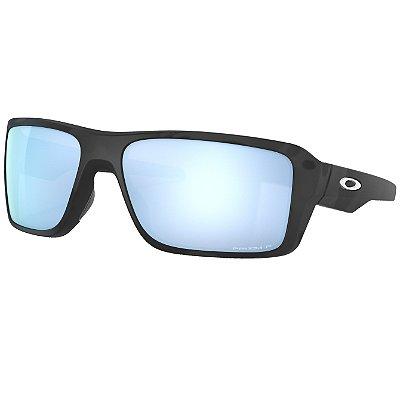 Óculos de Sol Oakley Double Edge Matte Black Camo W/ Prizm Deep Water Polarized