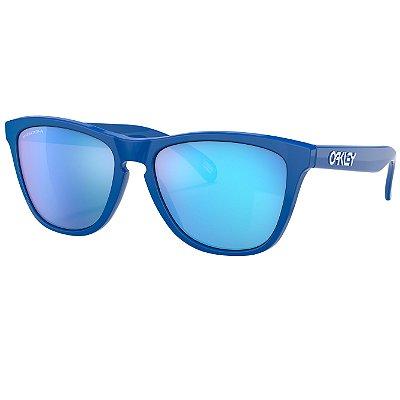 Óculos de Sol Oakley Frogskins Sapphire W/ Prizm Sapphire