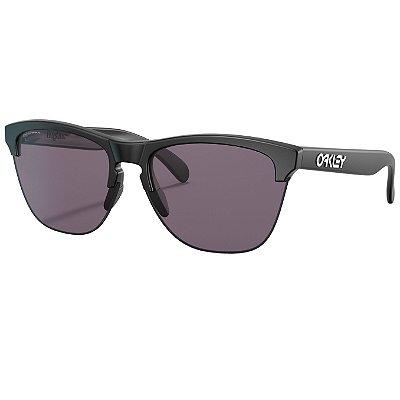Óculos de Sol Oakley Frogskins Lite Matte Black W/ Prizm Grey
