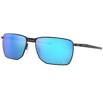 Óculos de Sol Oakley Ejector Satin Black W/ Prizm Sapphire