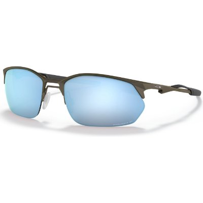 Óculos de Sol Oakley Wire Tap 2.0 Satin Lead W/ Prizm Deep Water Polarized