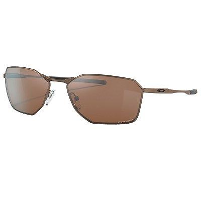 Óculos de Sol Oakley Savitar Satin Toast W/ Prizm Tungsten