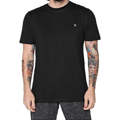 Camiseta Hurley Mini Icon Masculina Preto