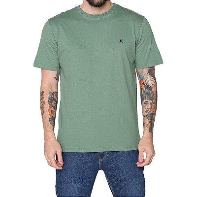 Camiseta Hurley Mini Icon Masculina Verde