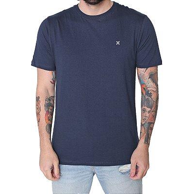 Camiseta Hurley Mini Icon Masculina Azul Marinho