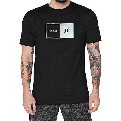 Camiseta Hurley Silk Halfer Masculina Preto