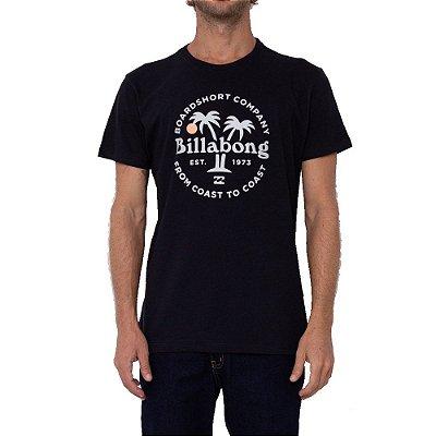 Camiseta Billabong Coaster Masculina Preto