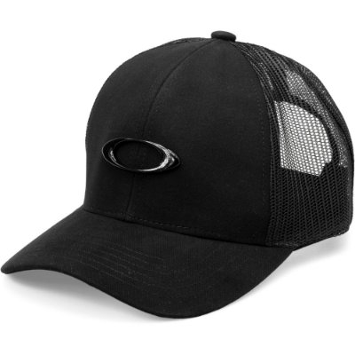 Boné Oakley Metal Ellipse Trucker Hat Preto