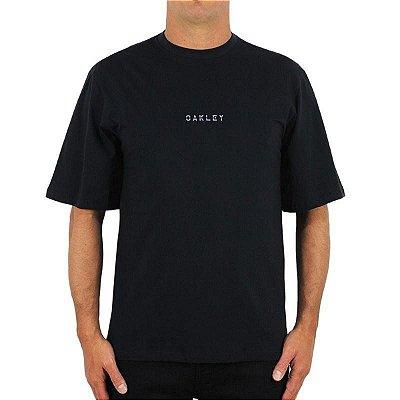 Camiseta Oakley Glowing Commuter Masculina Preto
