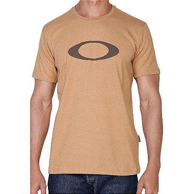 Camiseta Oakley O-Ellipse Masculina Dourado