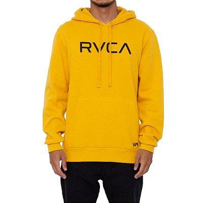 Moletom RVCA Fechado Big RVCA Masculino Amarelo